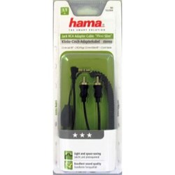 تصویر  hama Jack RCA Adapter Cable Flexi Slim 1.5m 122304