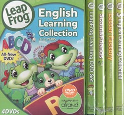 تصویر  مجموعه آموزشي Leap Frog English Learning Collection 4 DVD