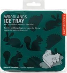 تصویر  KIKKERLAND Woodlands Ice Tray - CU91
